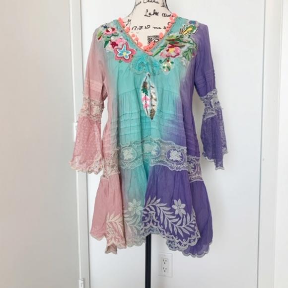 Antica Sartoria Dresses & Skirts - NWT Antica Sartoria Beachwear Dress/Tunic/Coverup